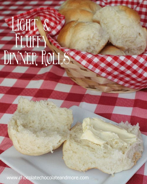 Light and Fluffy Dinner Rolls-so easy to make they'll become a family favorite!