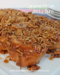 Caramel Pecan Sticky Buns, so easy to make and so good, you'll want to make them every weekend!