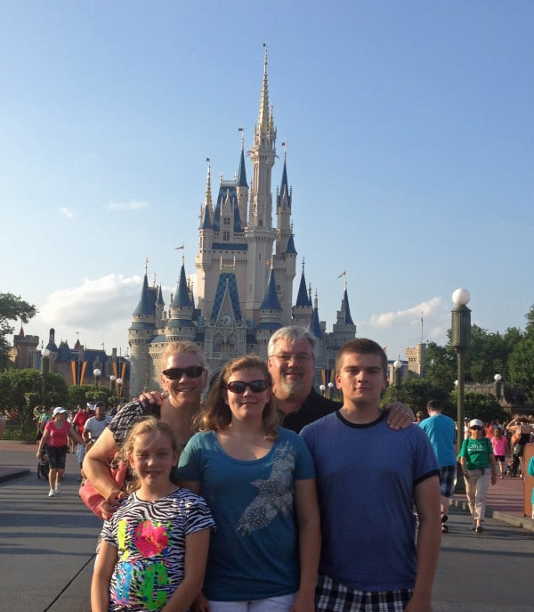 Family at the Castle