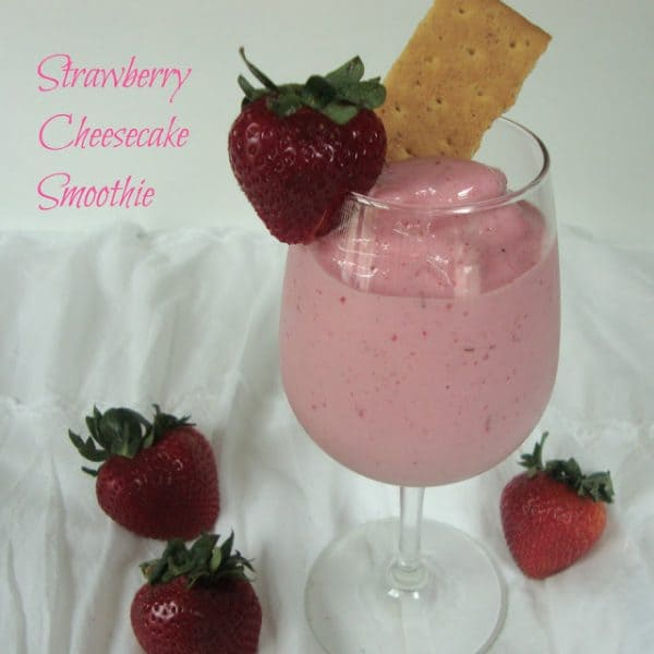 Strawberry Cheescake Smoothie