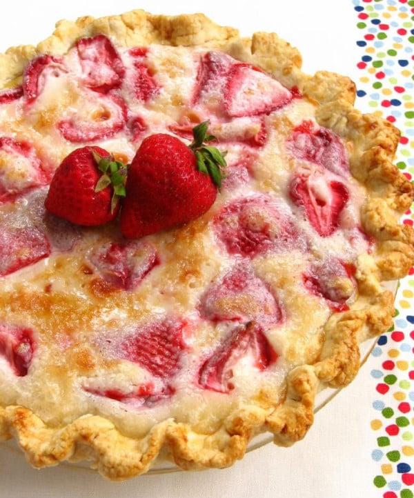 Summer Sour Cream Pie