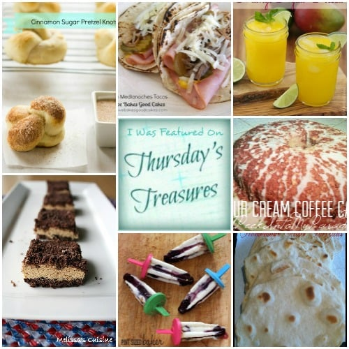 Thursday's Treasures Link Party