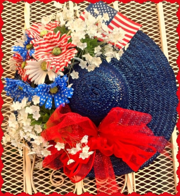 $th of July Hat from Tumbleweed Contessa featured at Thursday's Treasures