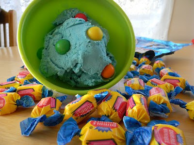 Bubble Gum Ice Cream from the Frugal Girls