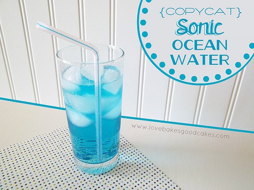 Copycat Sonic Ocean Water featured at Thursday's Treasures
