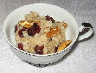 Cranberry Orange Oatmeal featured at Thursday's Treasures