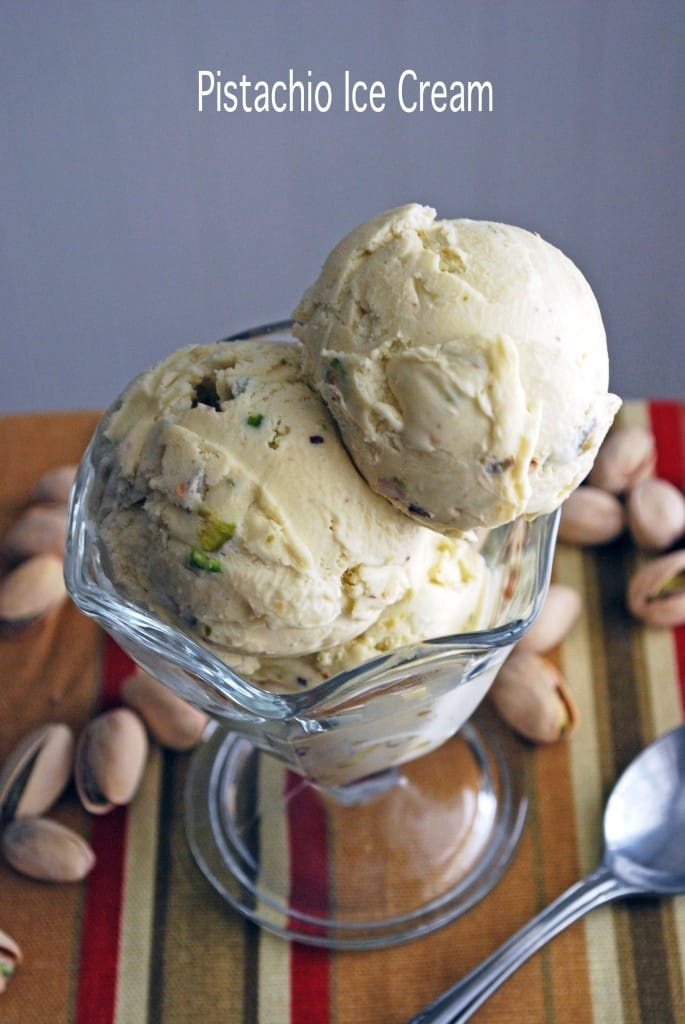 Pistachio Ice Cream from the Live-In Kitchen