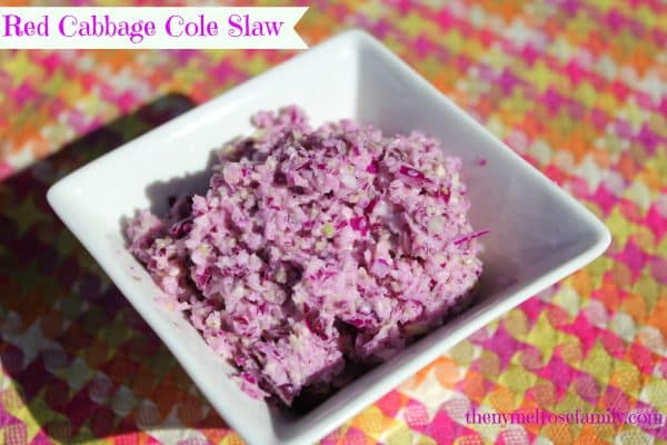 Red-Cabbage-Cole-Slaw featured at Thursday's Treasures