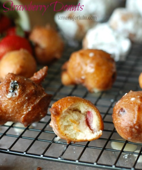Strawberry-Donut Holes featured at Thursday's Treasures