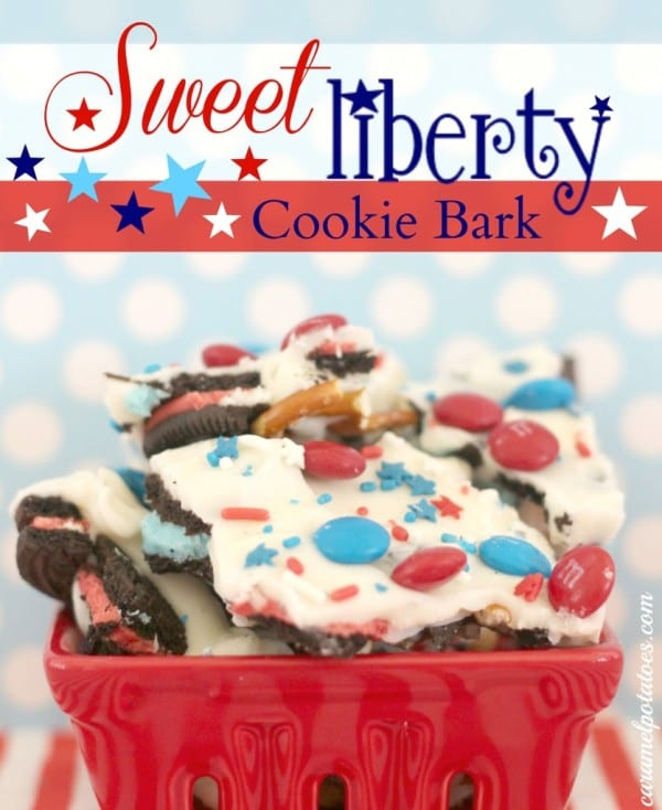 Sweet Liberty Cookie Bark featured at Thursday's Treasures