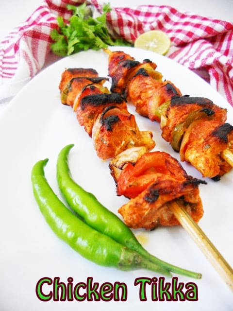 Quick Chicken Tikka Recipe from Cooking is Easy featured at Thursday's Treasures