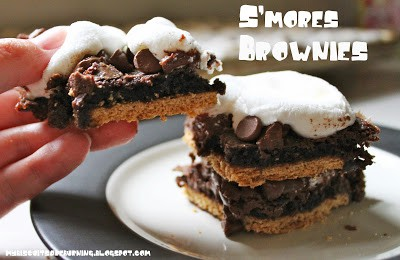 Smores Brownies from My Biscuits are Burning featured at Thursday's Treasures
