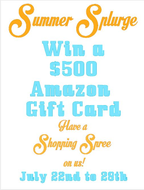 Summer Giveaway Amazon Cert