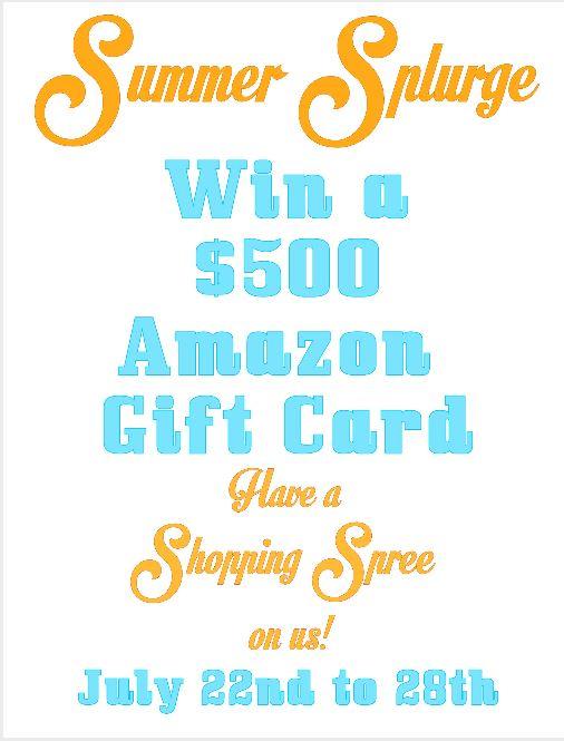 Summer Splurge Giveaway