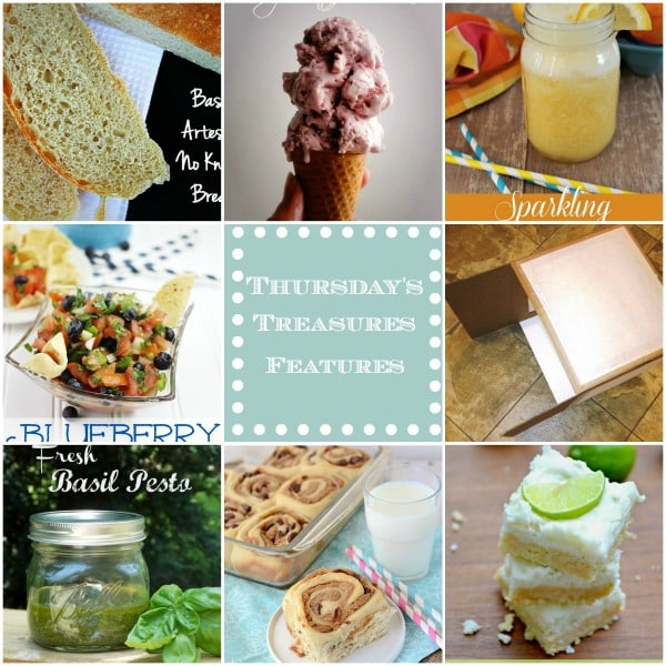 Thursday's Treasures Link Party 95