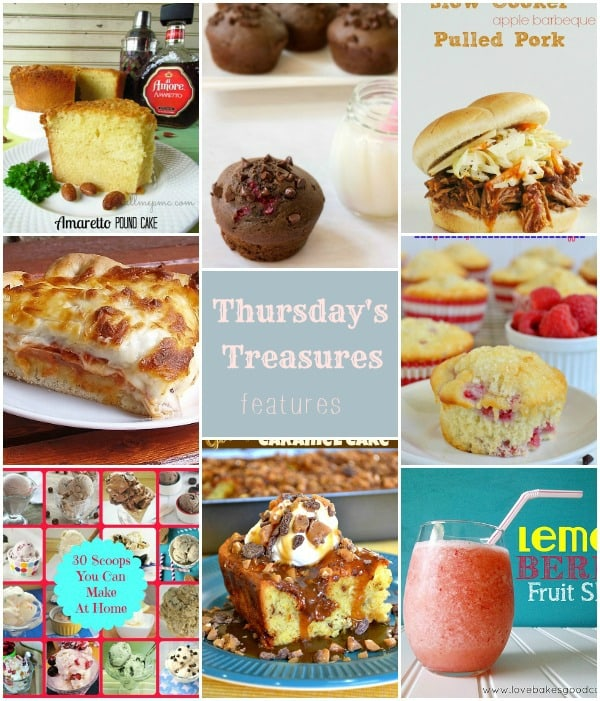 Thursday's Treasures Link Party 94