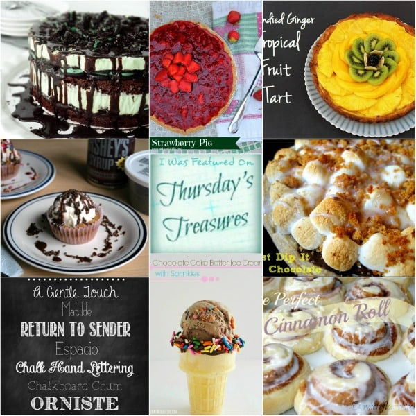 Thursday's Treasures Link Party 96