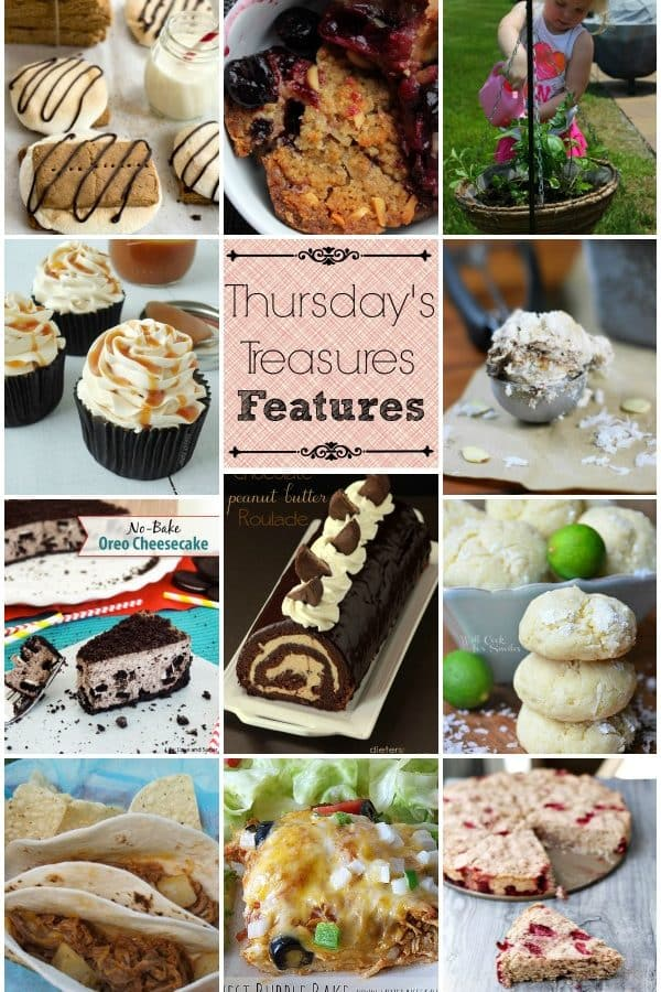 Thursday's Treasures 100th Link Party and a giveaway!