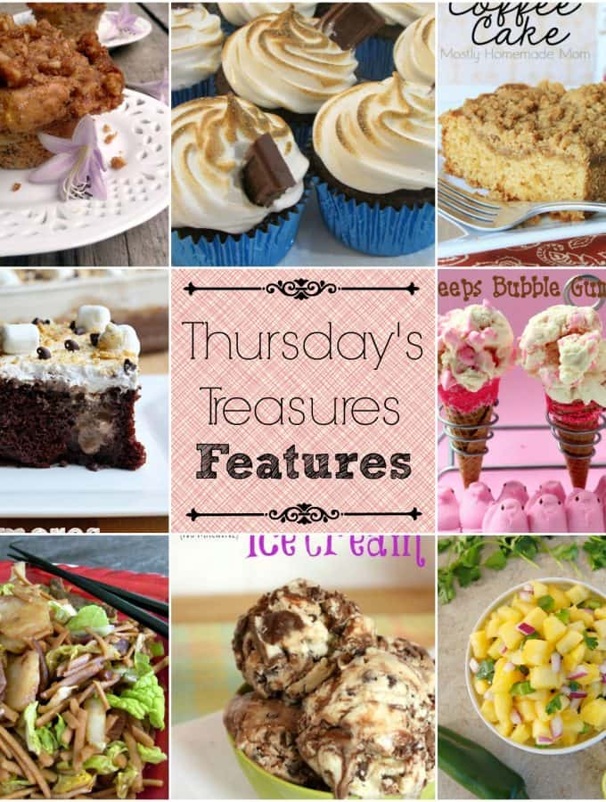 Thursday's Treasures link party 99