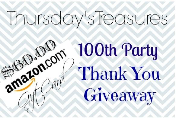 Thursday's Treasures 100 party small