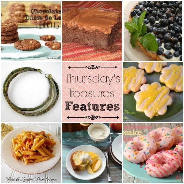Thursday's treasures Link Party 98
