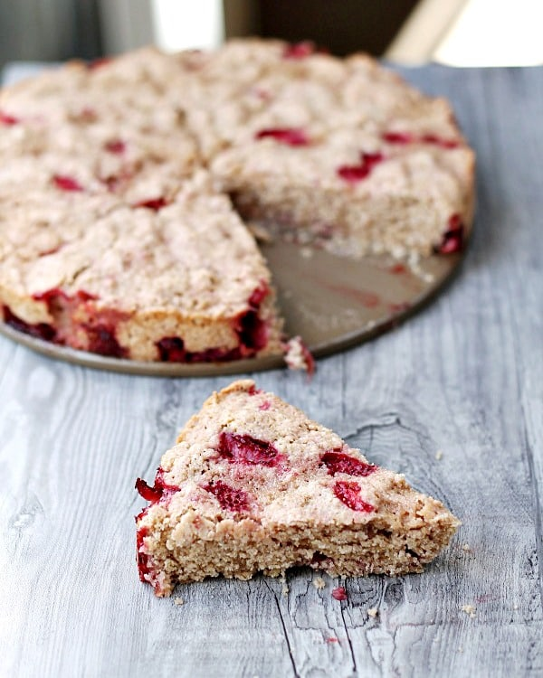 Strawberry Scone Tarts from This Gal Cooks featured at Thursday's Treasures