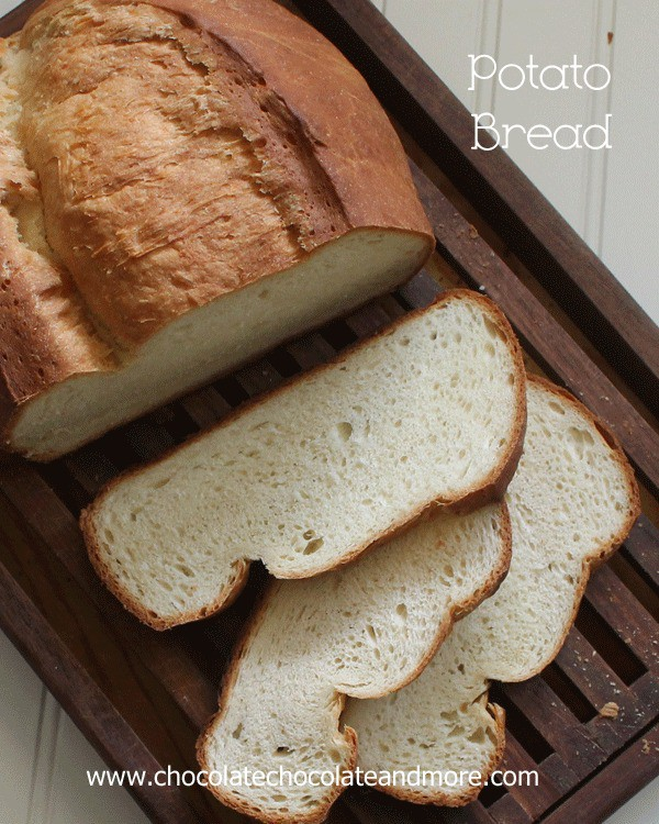Potato Bread-made with instant potato flakes means you don't have wait for leftover mashed potatoes to make it.