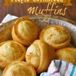 Maple Cornbread Muffins by Yesterfood
