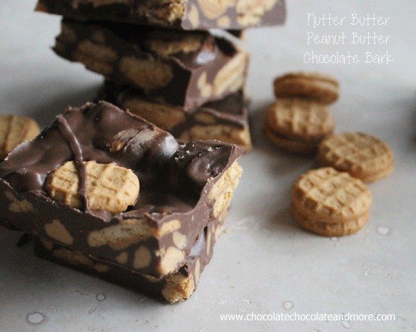 Nutter Butter Peanut Butter Chocolate Bark-ahhhhmazzzzzing!