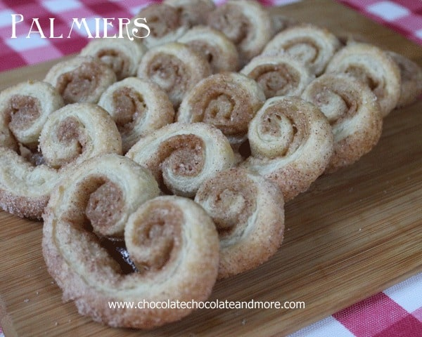 Easy Palmiers-the perfect treat for any occasion
