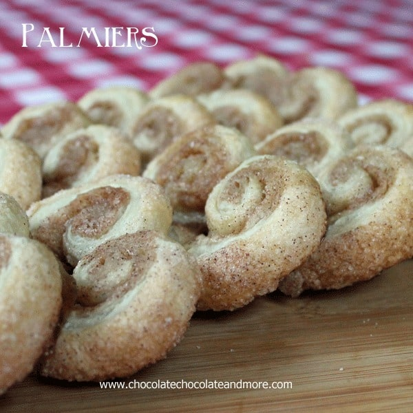 Easy Cinnamon Palmiers
