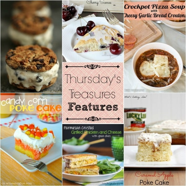 Thursday's Treasures link party 102