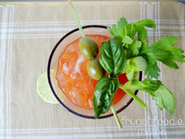 Basil & Garlic Blood Mary