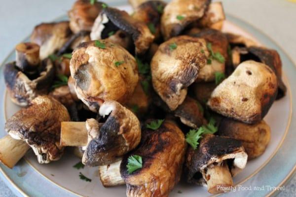 Easy Grilled Mushrooms