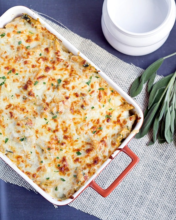 Four-Cheese-Pumpkin-Pasta-Bake