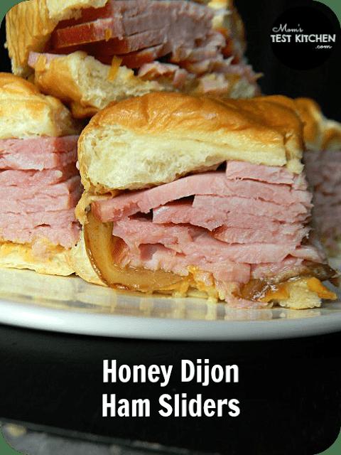 Honey Dijon Hame Sliders