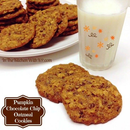 Pumpkin-Chocolate-Chip-Oatmeal-Cookies