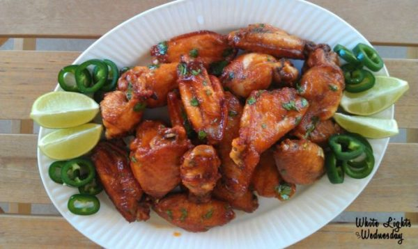Srirach Lime Chicken Wings