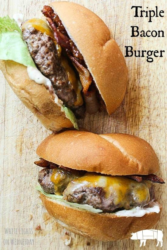 Triple Bacon Burger