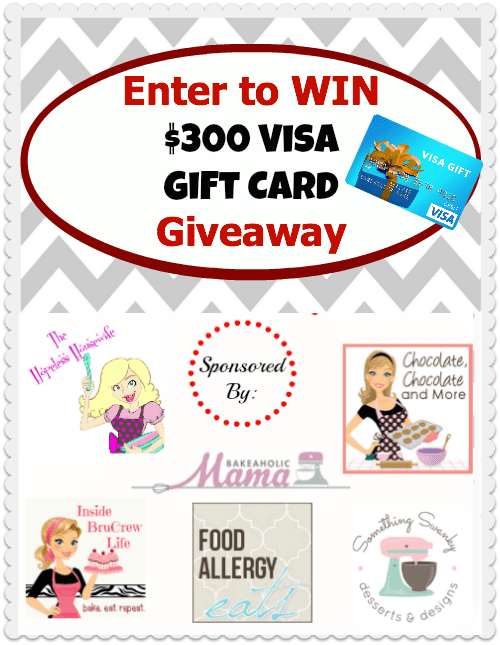 Visa Gift Card Giveaway Chocolate Chocolate And More
