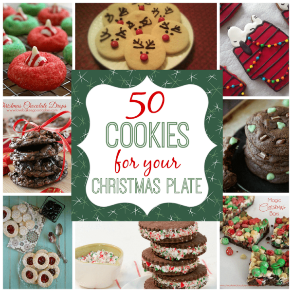 50 cookies for christmas