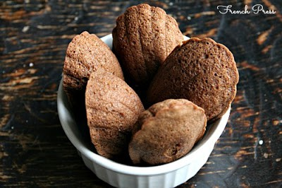 Chocolate & Brown Butter Madeleines