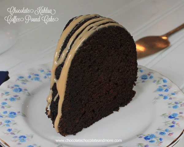 Kahlua Coffee Bundt Cake