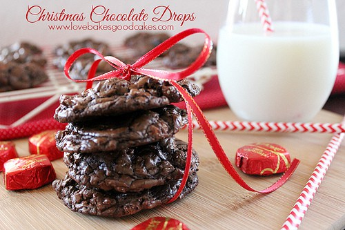 Chocolate Christmas Cookies.50 Cookies For Your Christmas Plate Chocolate Chocolate