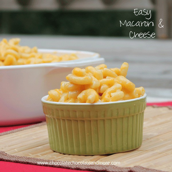 Easy Macaroni and Cheese-Never buy the box stuff again!