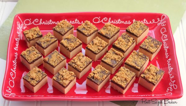 Gingerbread Pudding Fudge