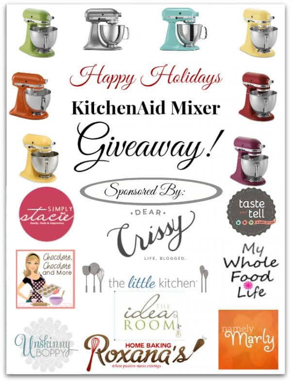 Happy Holidays KitchenAid Graphic