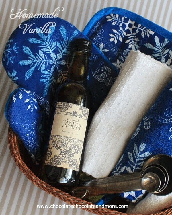 Enjoy using Homemade Vanilla in all your favorite recipes for a rich vanilla taste. Also makes a wonderful gift!