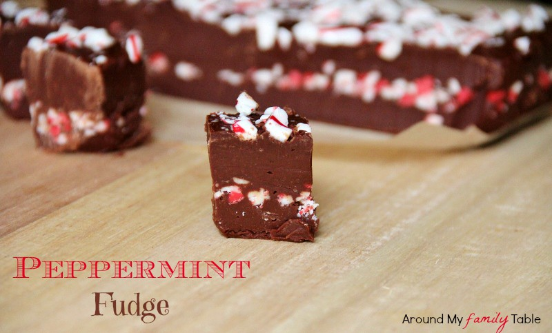 Peppermint Fudge from Around My Family Table