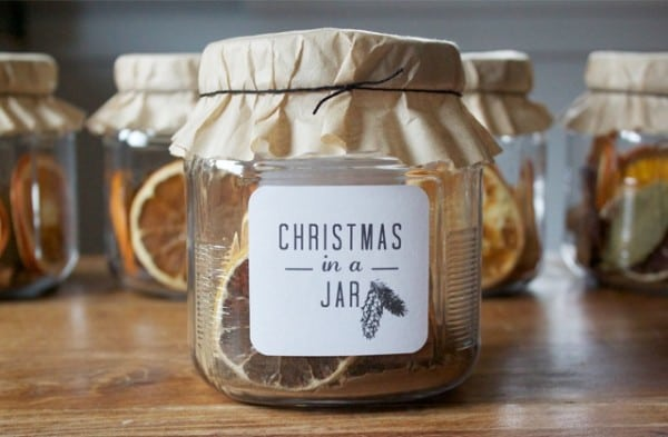 Christmas in a Jar Stove Top Potpourri